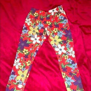 Floral Nike leggings